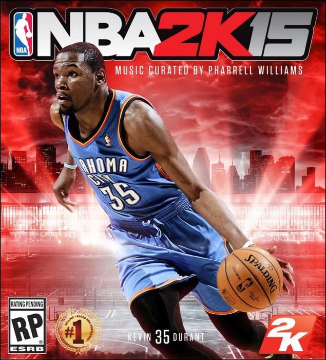 NBA2k15 Cover