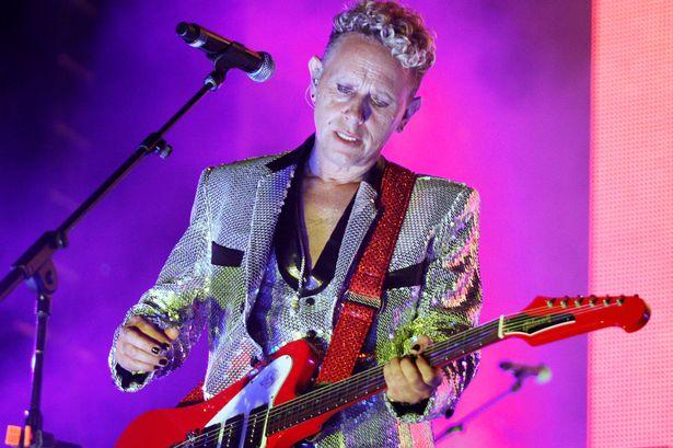 Depeche Mode lead guitarist Martin Gore