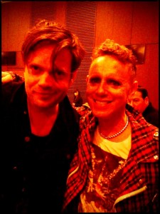 Martin Gore and Trentemøller