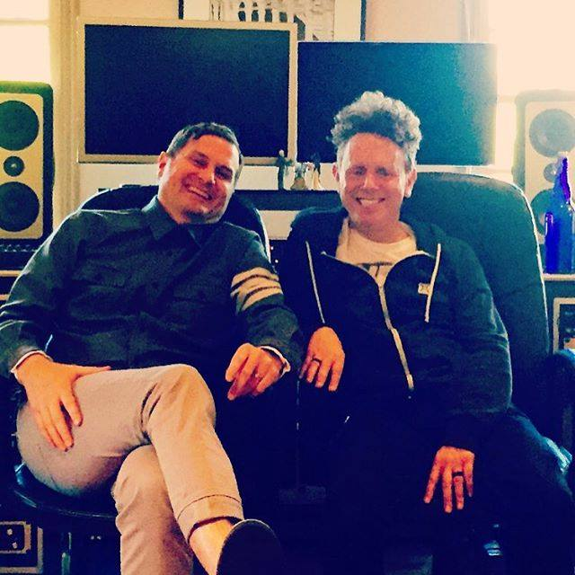 Martin L. Gore and Rob Bell