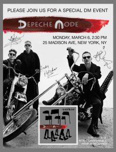 Depeche Mode Open Their Tour Rehearsal Studio To Group Of Lucky Fans Home A Depeche Mode Website